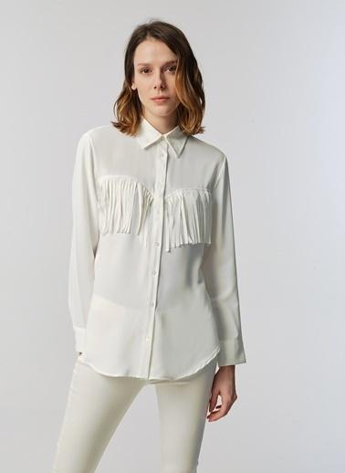 Monamoda Gömlek Beyaz